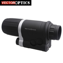 Vector Optics 3X42 3x Magnification Gen 1+ Infrared IR Monocular Night Vision Scope Riflescope Hunting with Helmet Tripod
