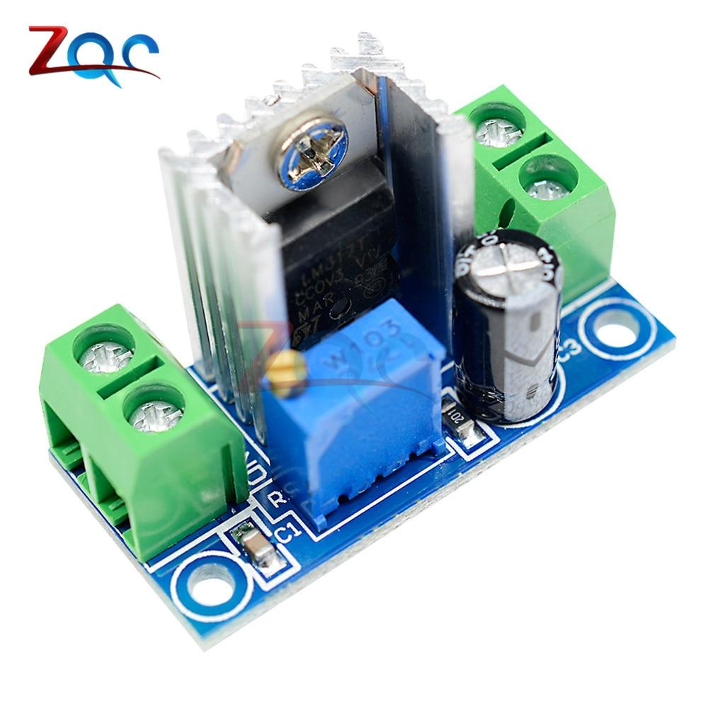 LM317 Adjustable Voltage Regulator Linear Power Supply LM317 DC-DC 4.2-40V To 1.2-37V Step Down Buck Converter Board Module
