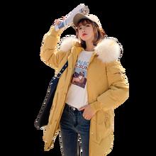 Brieuces 2020 new Winter Women Short Jacket Mujer Hooded Parkas Coat Loose Parka Fur Collar Cotton Padded Jackets