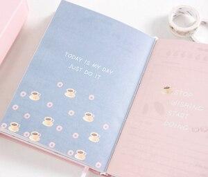 Image 4 - 2019 עונה 2 קוריאני Kawaii 100 דלי מאחל רשימת תכנית לעשות רשימת חמוד פרח צבעוני התאגרף מתכנן יומי בית ספר נייח A5