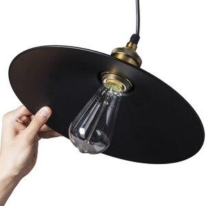 Image 5 - E27 edison lâmpada luminária nordic vintage pingente lâmpada luminarias iluminação interior retro pingente lâmpadas de luz para restaurantes