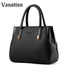 High Quality Brand Women's Bag Tote Bags for Women Pu Leather Handbag Fashion Casual Woman Shoulder Bag Ladies Messenger Bags