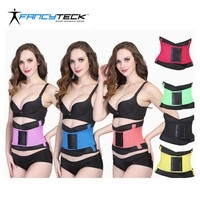S To 2XL Neoprene Latex Women Body Shaper 10 Colors Slimming Corset Belt Waist Trainer Shapewear
