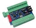 24CH DMX диммер плата контроллера  24 канала DMX512 декодер диммер с 3P подключение 24A выход для светодиодной ленты Светодиодная лампа