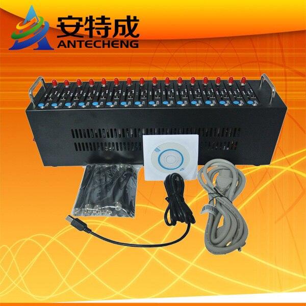 2016 Cheapest Bulk SMS device 16 sim card usb gsm modem pool wavecom SL6087 quad-band Piscina modem massa sms