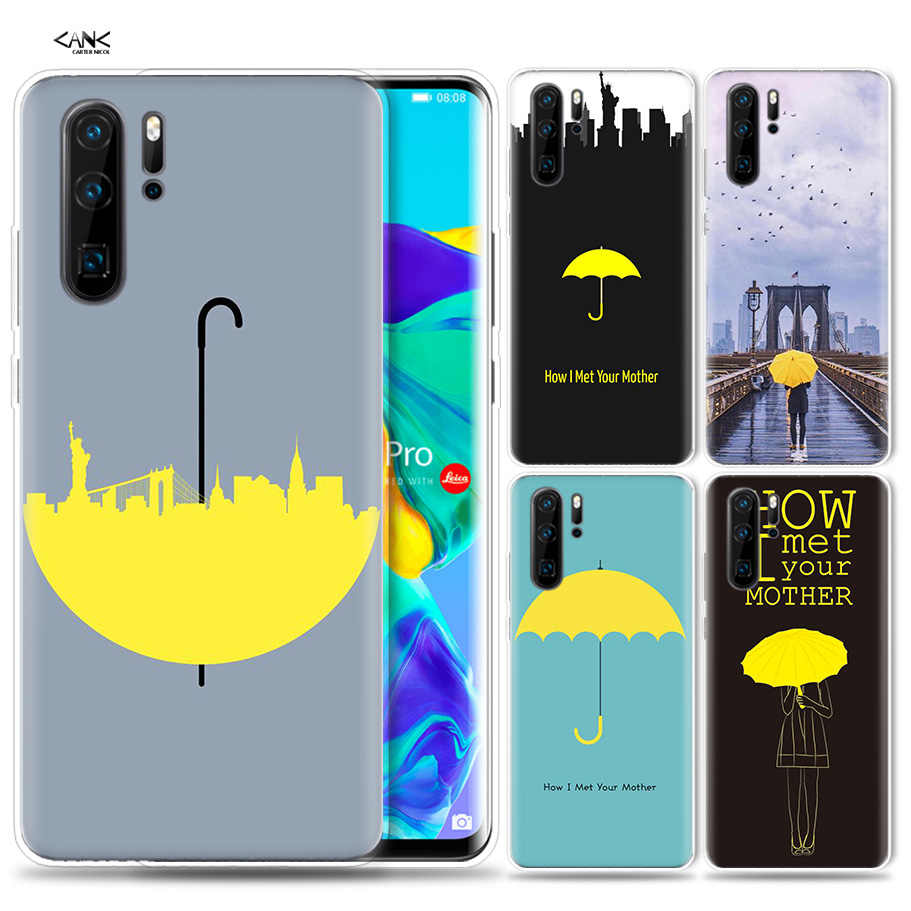 Case for Huawei P30 P20 P10 P9 Mate 10 20 Lite Pro Mobile Cell Phone Bag P Smart Z 2019 Plus how i met your mother himym P8 P30P
