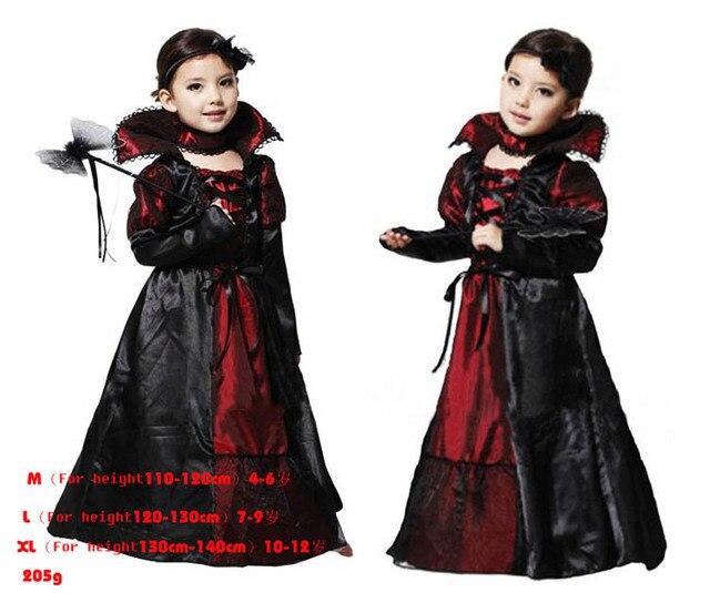drei Stücke Vampir schwarzem tüll wenig mädchen verkleiden ...