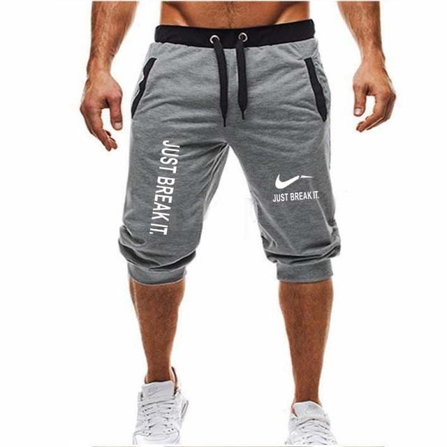 Pantalones cortos de gimnasio correr deportes Fitness culturismo Hombre entrenar