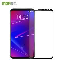 Meizu 16X стекло закаленное 6,0 дюймов MOFi Оригинал Meizu 16X экран протектор полное покрытие черный Meizu 16X стеклянная пленка защита