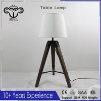 2017 New Arrived 58CM Wooden Table lamp For Modern Style Old Color Free Shipping, For Bed room, High Quality Desk lighting