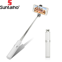 Per IPhone Suntaiho Cellulare Universale Telecomando a Filo Selfie Per Samsung Huawei honor 8 9 P10 lite LG G5 6 Selfie Stick
