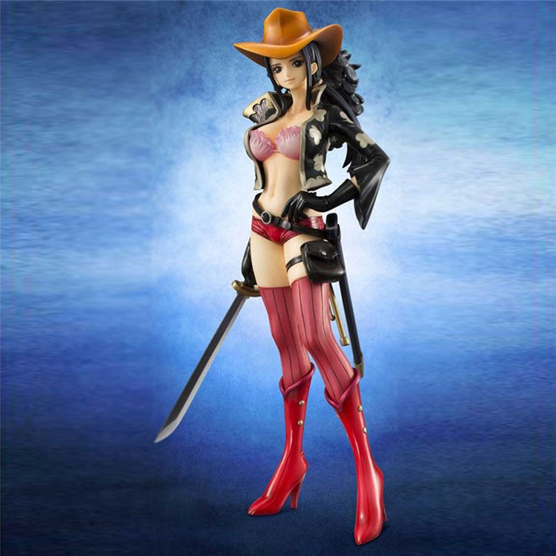 Starz Anime One Piece Figure Nico Robin Miss Allsunday Sword Ver. PVC Sexy Action Figure Model Collection Toys anime one piece nico robin two years later robin pvc action figure collection model toy brinquedos 24cm