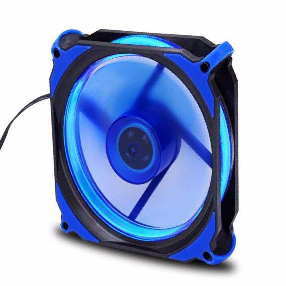 Eclipse 120mm 120x120x25mm LED De Refroidissement Refroidisseur De Bureau Boîtier de L'ordinateur Ventilateur Moins de Bruit De Refroidissement Ventilateur silencieux Ventilateur Pour Ordinateurs De Bureau