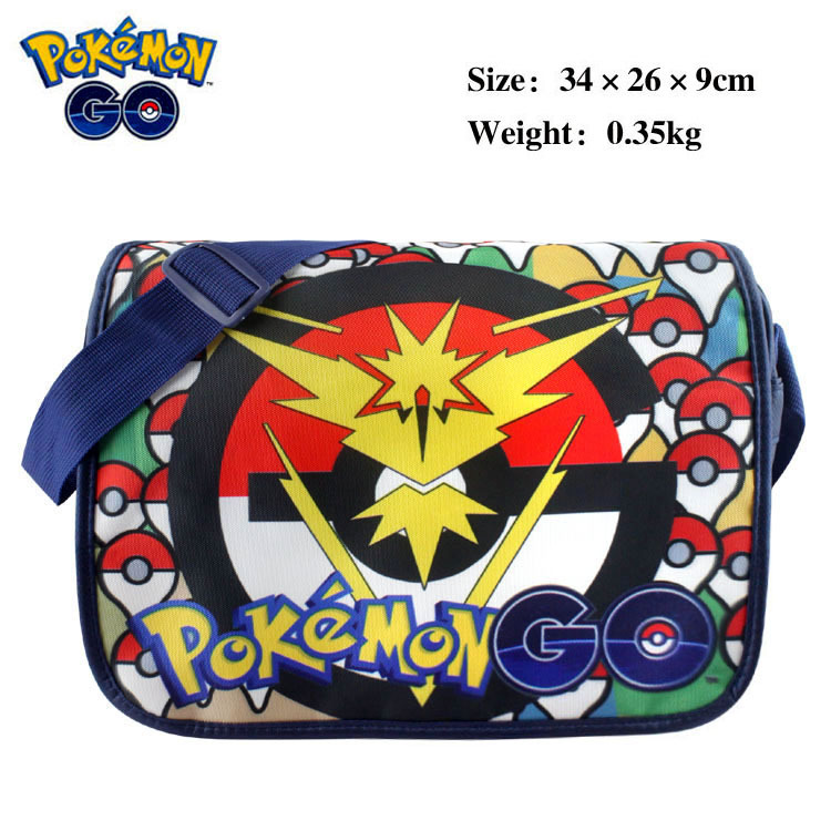 Hot anime game shoulder bag Pokemon go  pokeball shoulder bag daily use colorful bags team logo bag valor Mystic Instict  ab221 pokemon go new pokeball toy 2016 5styles new puzzle 3d miniature building blocks assembled anime abs super master pokemon ball