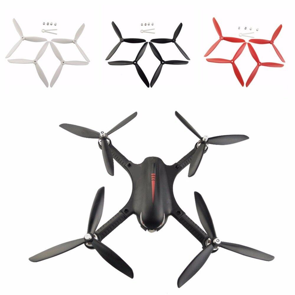 Drei-blatt propeller für Hubsan H501S H501A H501C H501M H501S W H501S pro MJX B2 B3 B2W Bugs 3 bugs 2 D80 F18 F17 F100
