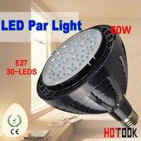Hot SALE LED PAR38 60W LED Spotlight PAR 38 E27 Spot Light Lamp Bulb With Fan