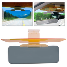 CITALL Car Anti-Dazzle Sun Visor Clip Board Goggle Day Night Vision Driving Sunshade Mirror for Ford Focus Audi A4 VW Golf Mazda