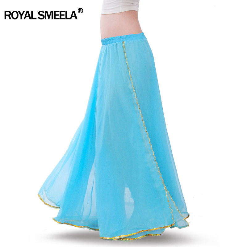 Image 5 - Hot Sale Free shipping New arrival belly dancing  training skirts belly dance costume practice dress & performance  6009skirt laceskirt cutskirt orange -