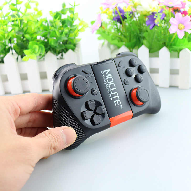 MOCUTE Bluetooth gamepad Android gamepad wireless controller VR gamepad  compatible PC smart phone VR TV box PK ps4 controller