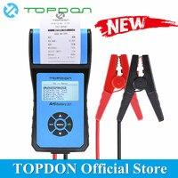 TOPDON Arti аккумулятор 201 AB201 автомобильный аккумулятор тестовый прибор с термопринтером CCA сверхмощный аккумулятор для грузовика анализатор т