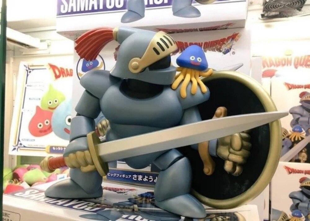 25 cm Dragon quest 2 Samuri slime figurine poupée 800 gramme cadeau boîte sac japonais dessin animé PVC modèle jouet d10