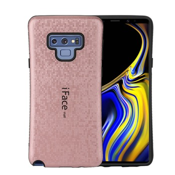 809f47024ea IFace Mall para Samsung Galaxy Note 9 funda de mosaico de alta resistencia  a prueba de golpes carcasa trasera dura protección completa teléfono móvil  los ...