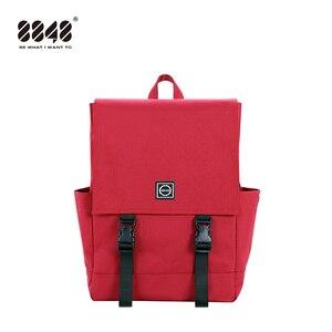 Image 1 - 8848 Phụ Nữ Hot Ba Lô Vải Canvas Màu Kẹo Chống Nước Trường Túi dành cho Thanh Thiếu Niên Nam Công Suất Lớn Laptop Lưng 092 060  008