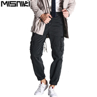 MISNIKI Autumn Men Military Cargo Pants Multi-pockets Male Cotton Casual Trousers Overalls Army Work Pants JPCK13