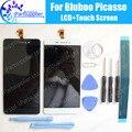 Bluboo Пикассо ЖК-Дисплей + Сенсорный Экран 100% Оригинальный ЖК-Дигитайзер Стеклянная Панель Замена Для Bluboo Пикассо инструменты + Клей