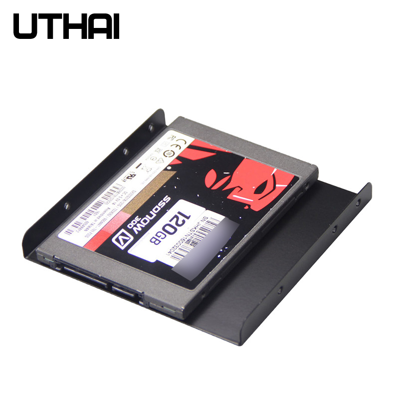 UTHAI G09 Ultra-thin SSD Solid State Hard Drive Bracket 2.5 Inch Hard Disk Bracket HDD Caddy Tray Hard Drive Adapter