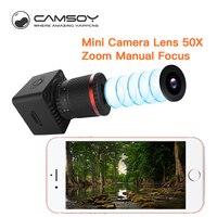 Camsoy 2018 New Mini Camera Digital Lens Wireless Wifi P2P Mobile Phone Telescope 50X Zoom Manual