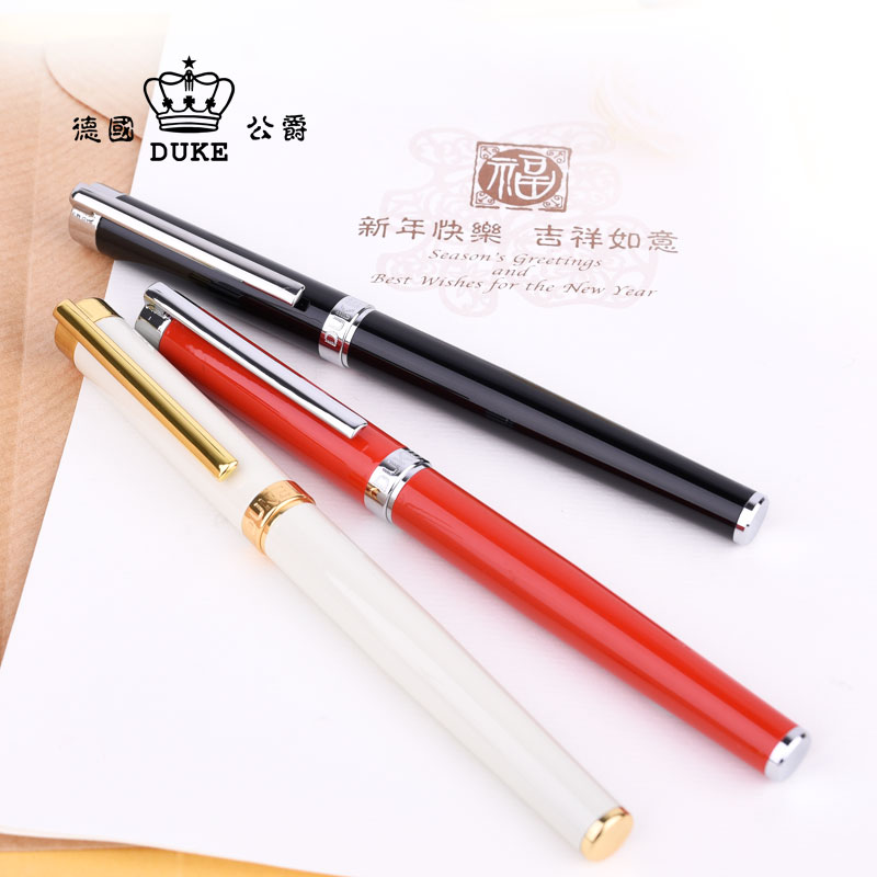 German Duke DK-T-002 Iridium Finance Fountain Pen 0.5mm Nib Smooth Standard Pens Free Shipping italic nib art fountain pen arabic calligraphy black pen line width 1 1mm to 3 0mm