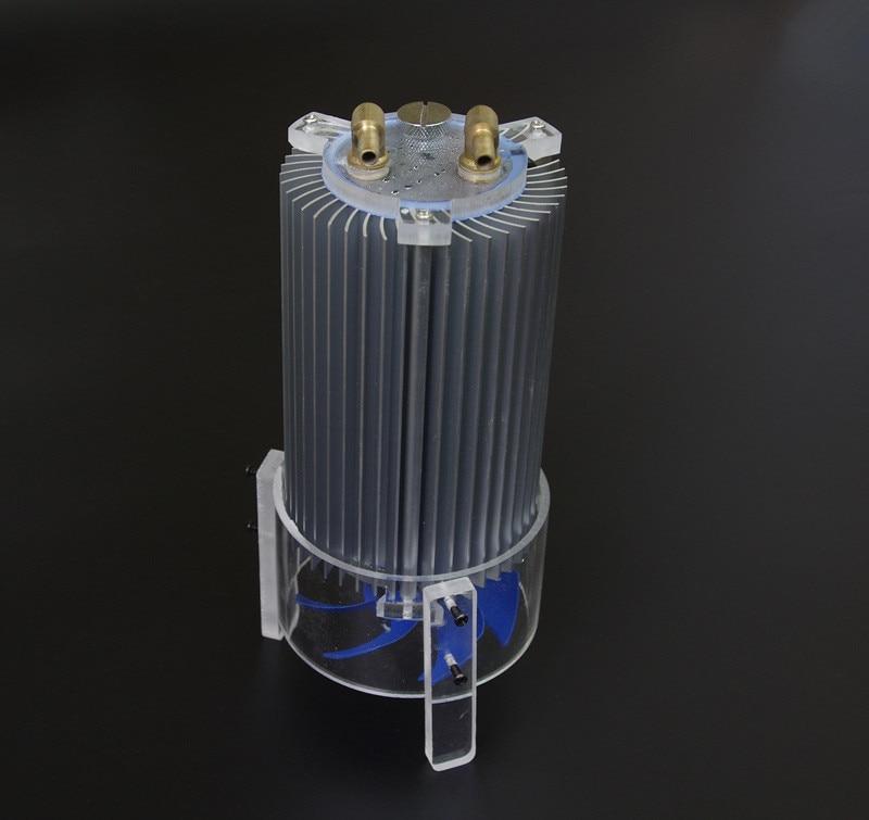 DIY Laptop Powered Cooler Cpu Graphics Card Water Liquid Cooling Tower Water Tank Heat Sink Radiator Aluminum DC12V Fan