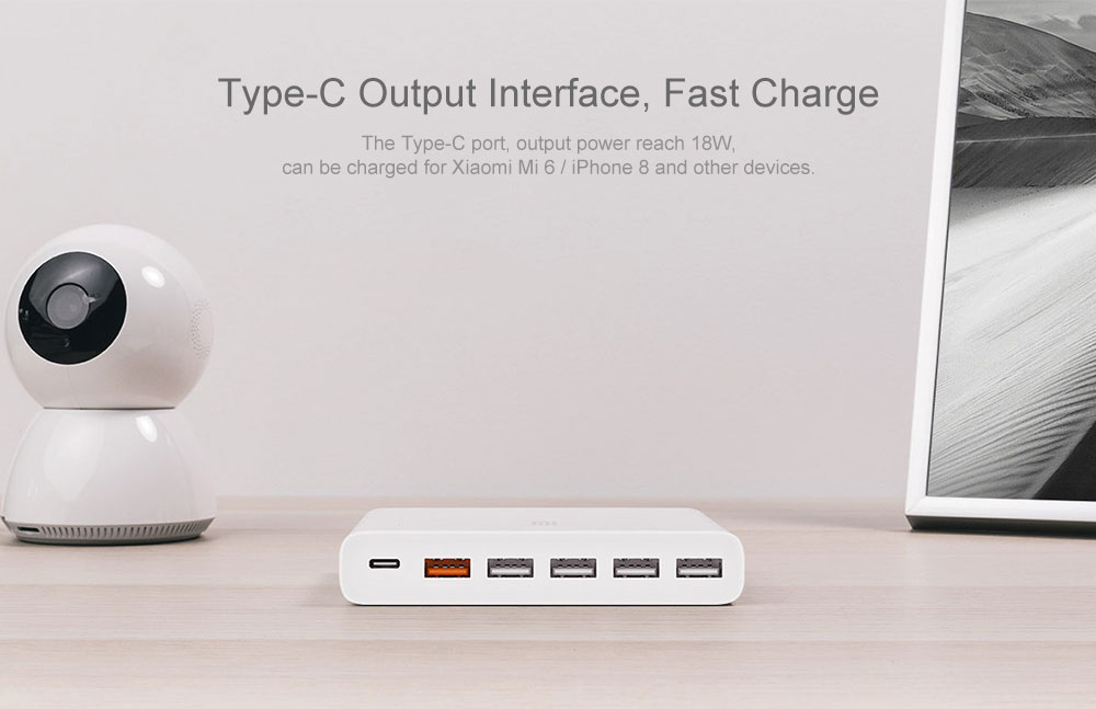 xiaomi 10 port USB charger 8