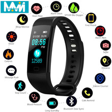 Y5 Smart Band activity fitness tracker with heart rate bracelet smart-band electronic wristband PK miband Smart Bracelet new y5 smart band smart wristband heart rate watches activity fitness tracker smart bracelet vs xiaomi mi band 3 vs honor band 4