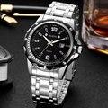 Wlisth relógio do esporte dos homens relógio de 2017 top famosa marca de luxo relógios homens de aço de pulso de quartzo-relógio masculino relógio de pulso relogio masculino