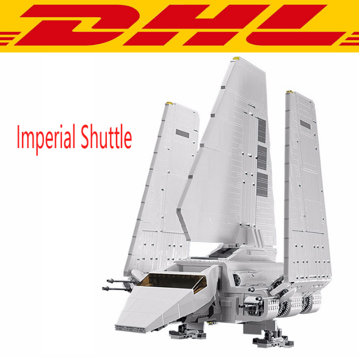 LEPIN 05034 Star War Series The Imperial Shuttle Building Assembled Blocks Bricks 2503pcs figures Toys Compatible 10212 lepin 22001 pirate ship imperial warships model building block briks toys gift 1717pcs compatible legoed 10210