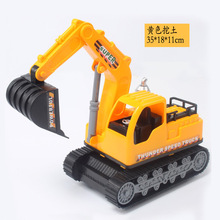 3D kids Toys Boys Excavator Flashing Wheel Builder Machine Car Kids Early Learning Toy Tobot Children Educational Birthday Gift