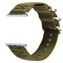Фотография V-moro Newest Breathable Watch Straps For Apple Watch Series 2 Strap Band Woven Nylon Soft For Apple Watch 2 Series Watch Bands