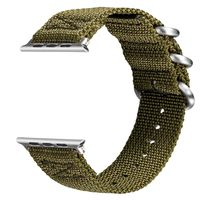 V Moro Newest Breathable Watch Straps For Apple Watch Series 2 Strap Band Woven Nylon Soft