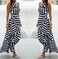 Fashion Long 2016 Women New Evening Party Summer Dress Sexy Maxi Sundress Beach Dress Hot