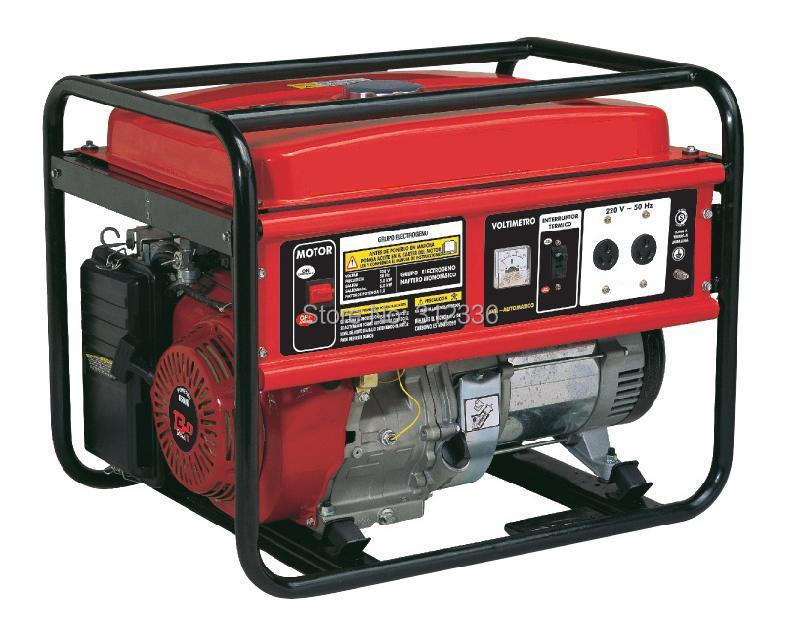 Fast shipping unit price portable generator 3500 2.5kw 168F GX200 Recoil starting OHV 6.5hp  single phase 220V 50Hz fast shipping 6 pins 5kw ats three phase 220v 380v gasoline generator controller automatic starting auto start stop function