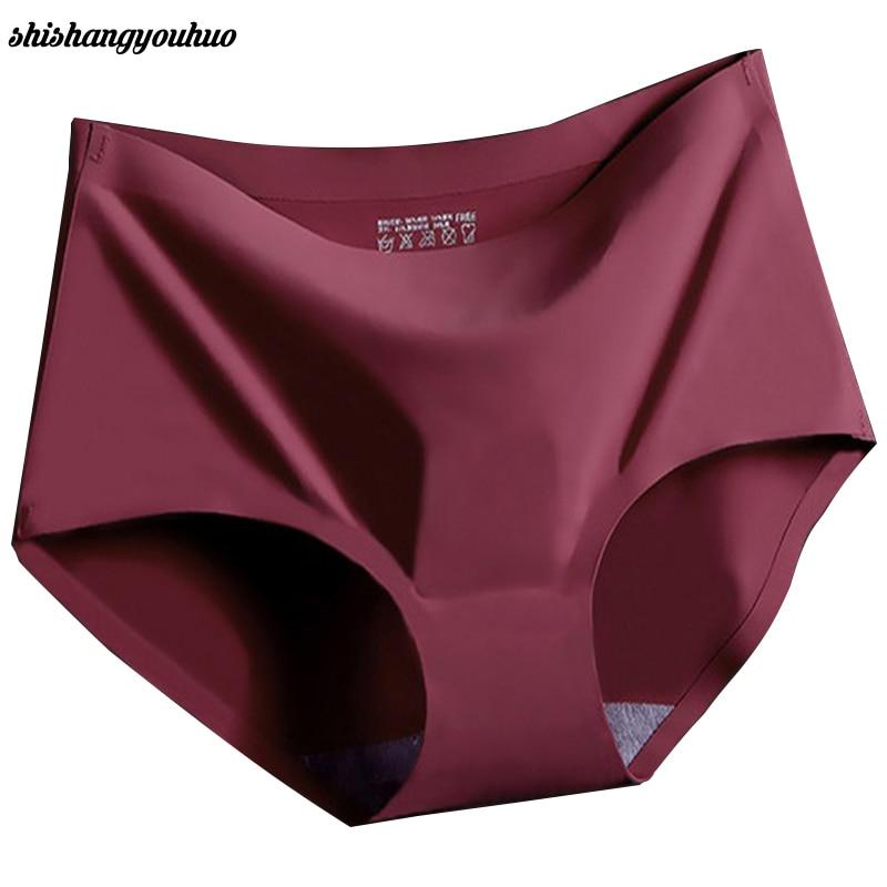 b6acbd592f7 Hot Sale Summer Style Underwear Women M L XL Sexy Ladies Girls Seamless Panties  Briefs Intimates 2017