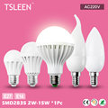 +Cheap+ High Effect E27 E14 Energy Saving Warm/Cool White Lamps 220V Bulb Light 3/5/7/9/12W # TSLEEN