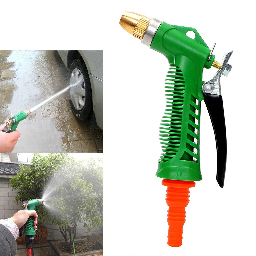 Copper Washer Gun Nozzle Household Garden Car Wash Water Gun Tornador Adjustable Pressure Water Gun Durable Car Styling
