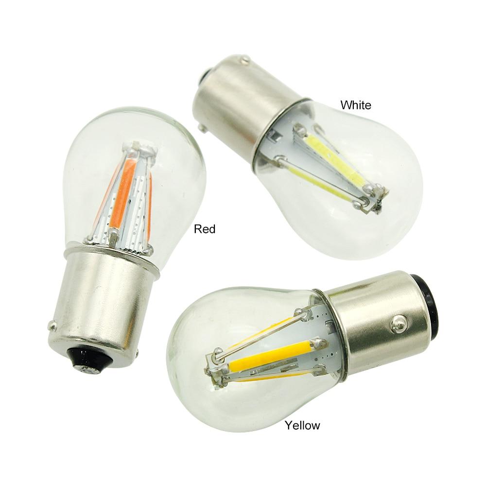 HTB1Qc2KMhYaK1RjSZFnq6y80pXaO ANBLUB P21W BA15S 1156 1157 BAY15D LED Car Tail Brake Light Bulbs 12V COB Filament Auto Parking Lamp Reverse Bulb DRL Lights