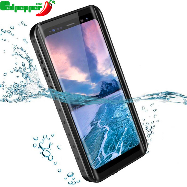 sale retailer 358c1 0814d US $12.59 30% OFF|360 Full Protection Waterproof bag Phone Case for Samsung  Galaxy S9 Plus Swimming diving Cover for Samsung note 9 8 shell coque-in ...