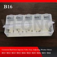 B16 yüksek basınçlı enjektör Ayarlama Yıkayıcılar Şimler Conta Tamir Takımları için yüksek basınçlı enjektör B16 100 adet/grup|rail injectors|common rail injectorrepair kit for injector -