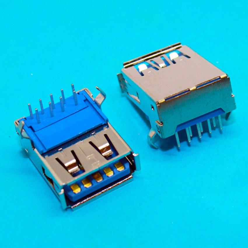 2PCS - 100PCS USB 3.0 3 USB Jack connector Port Socket Buchse einbaubuchse FOR DELL PC Laptop gipfel кастрюля naturel 28 см 6 2 л