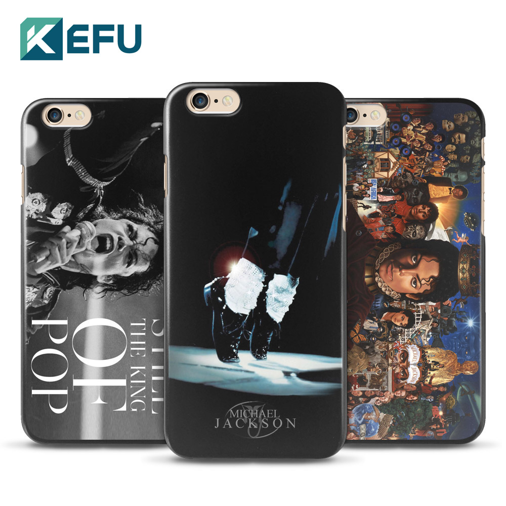 For coque iPhone 6 6S case Michael Jackson hard PC cover for fundas iPhone 6 6S case 2016 new arrivals for Apple iPhone 6S case